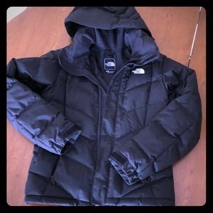 North face down ski jacket women's m